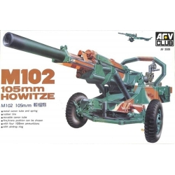 AFV Club AF35006 1/35 105mm Howitzer M102