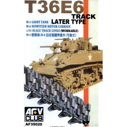 AFV Club AF35020 1/35 T36E6 Track Later Type