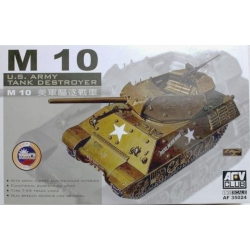 AFV CLUB AF35024 1/35 M10 - U.S.Army Tank Destroyer