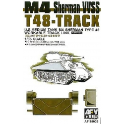 AFV CLUB AF35038 1/35 M4 Sherman VVSS T48 Workable Track Links