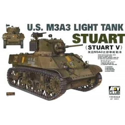 AFV Club AF35053 1/35 U.S. M3A3 Light Tank Stuart (Stuart V)