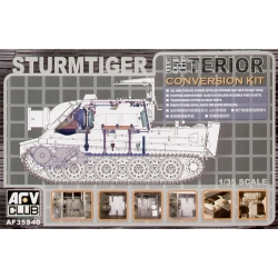 AFV Club AF35S40 Sturmtiger Interior Conversion Kit