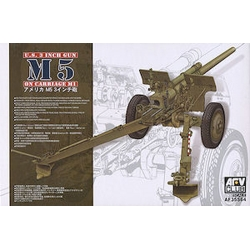 AFV CLUB AF35S64 1/35 U.S. 3 inch gun M5 on carriage M1*