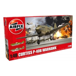 AIRFIX A05130 1/48 Curtiss P-40B Warhawk