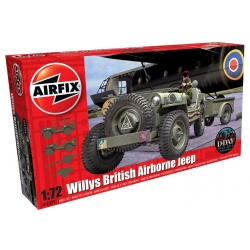 AIRIFX A02339 1/72 Willys British Airborne Jeep