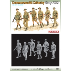 DRAGON 6380 1/35 Commwealth Infantry Italy 1943-44