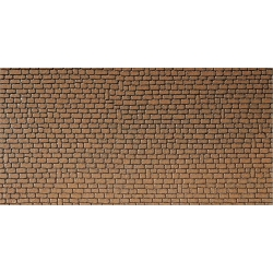 Faller 170611 HO 1/87 Wall card, Sandstone, red