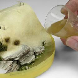 Faller 170613 HO 1/87 Wall card, Cut stone, red