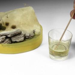 Faller 170620 HO 1/87 Wall card, Lime stone