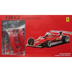 Fujimi 09033 1/20 Ferrari 126C2 Long Beach GP 1982