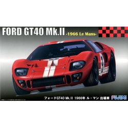 Fujimi 126067 1/24 Ford GT40 Mk.II `66 LeMans
