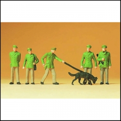 Preiser 14008 Figurines HO 1/87 Policiers - Policemen