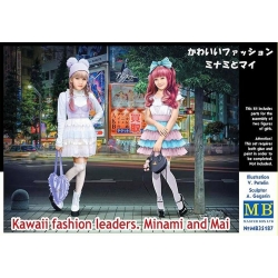 MasterBox MB35187 1/35 Kawaii fashion leaders. Minami and Mai