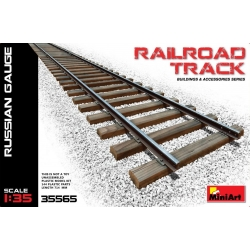 Miniart 35565 1/35 Railroad Track (Russian Gauge)