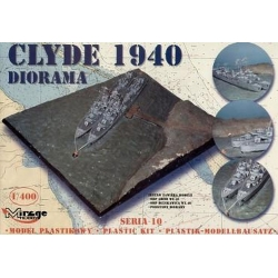 MIRAGE HOBBY 401002 1/400 DIORAMA - CLYDE 1940