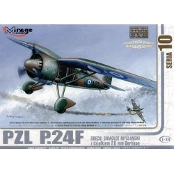 MIRAGE HOBBY 481007 1/48 PZL P.24F with 20mm Oerlikon