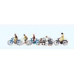 reiser 10716 HO 1/87 Young People w/Bicycles