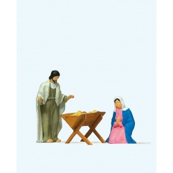 Preiser 29091 HO 1/87 Marie Joseph et L'Enfant - The Holy Family