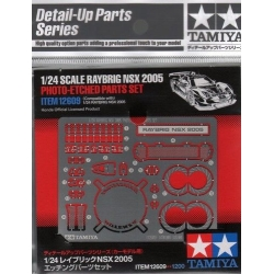 TAMIYA 12609 1/24 Raybrig NSX Photo-Etched Parts Set