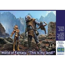 MasterBox MB24011 1/24 World of Fantasy This is my land!