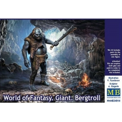 MasterBox MB24014 1/24 World of Fantasy Giant Bergtroll