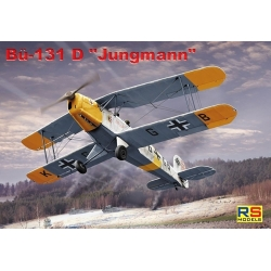 "RS MODELS 92193 1/72 Bücker Bü-131 D ""Jungmann"""