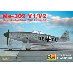 RS MODELS 92201 1/72 Me 309 V1/V2