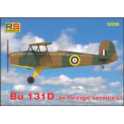 RS MODELS 92206 1/72 Bücker 131D in foreign services