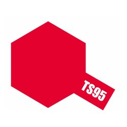 Tamiya 85095 TS-95 Metallic Red Spray 100ml