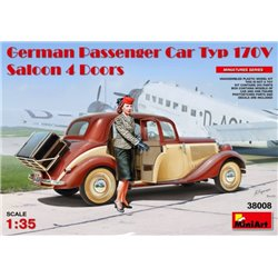 Miniart 38008 1/35 German Passenger Car Type 170V Saloon 4 doors