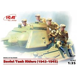 ICM 35640 1/35 Soviet Tank Riders (1943-1945)