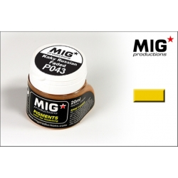 MIG Productions P043 Pigments Khaki Russian Faded