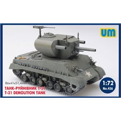 UNIMODELS 456 1/72 T-31 Demolition Tank