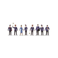 Faller 151002 HO 1/87 Manutentionnaires et marchandises - Transport workers