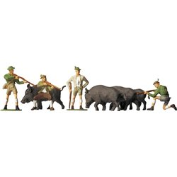 Faller 151039 HO 1/87 A La Chasse - Hunting