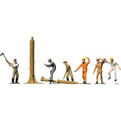 Faller 151041 HO 1/87 Forestiers - Lumbermen