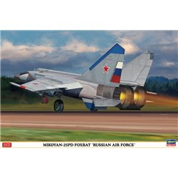 HASEGAWA 02213 1/72 MiG-25PD