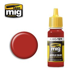 AMMO OF MIG A.MIG-0121 Peinture Rouge Sang - Blood Red 17ml