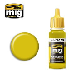 AMMO OF MIG A.MIG-0125 Peinture Jaune Or – Gold Yellow 17ml