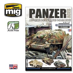 AMMO OF MIG PANZ-0053 Panzer Ace Issue 53 (Special Balkenkreuz) English
