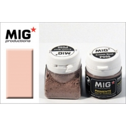 MIG Productions P055 Pigments Cream Rust