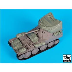 Black Dog T35160 1/35 Marder III with canvas accessories set