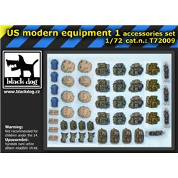 Black Dog T72009 1/72 US modern equipment 1 accessories set