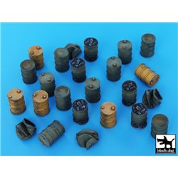 Black Dog T72025 1/72 Barrels accessories set