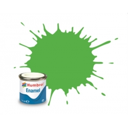 HUMBROL Enamel 208 FLUOR.GL SIGNAL GREEN 14ml GLOSS