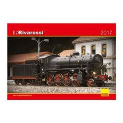 Rivarossi HPR2017 Catalogue 2017 HO Anglais-Allemand-Italien 72p