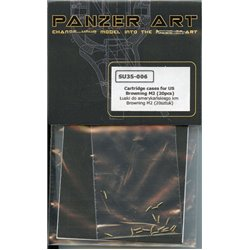 PANZER ART SU35-006 Cartridge cases for Browning 0,5 (20pcs)