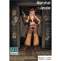 MasterBox MB24018 1/24 Pin-up series Marshal Jessie