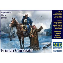 MasterBox MB3207 1/32 French Cuirassier Napoleonic War Series