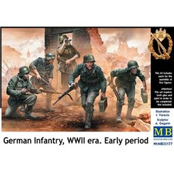 MasterBox MB35177 1/35 German Infantry WWII Early